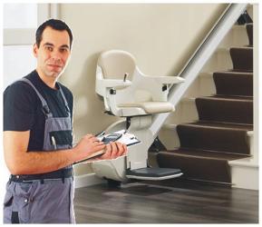 Cama Treppenlift treppenlift montage einbau worauf achten