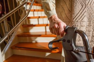 Zuschuss für Treppenlifte beantragen